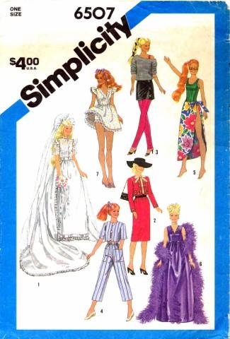 Simplicity 1984 6507