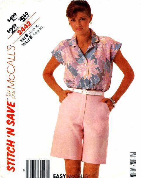 McCalls 1986 2442