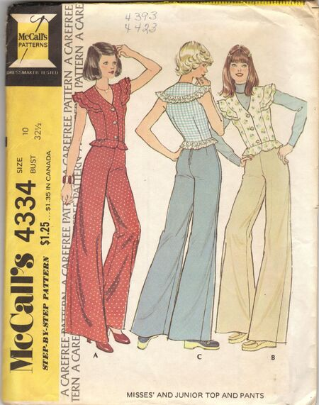 Mccall S 4334 Vintage Sewing Patterns Wikia