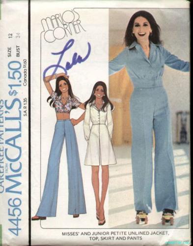 McCalls 4456 70s