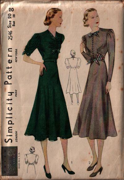 Simplicity 2546 front