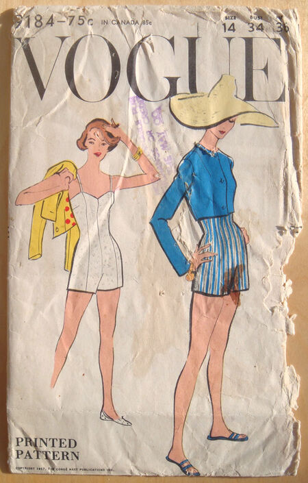 Vintage-VOGUE-9184-sewing-pattern-A