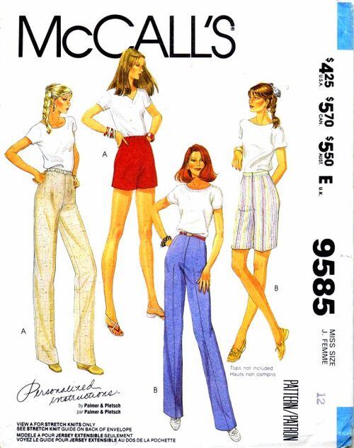 McCalls 1985 9585