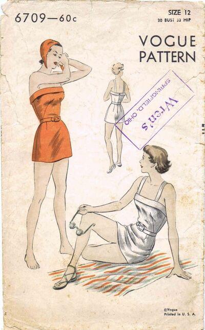 Vogue 1950 6709