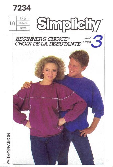Simplicity 1985 7234