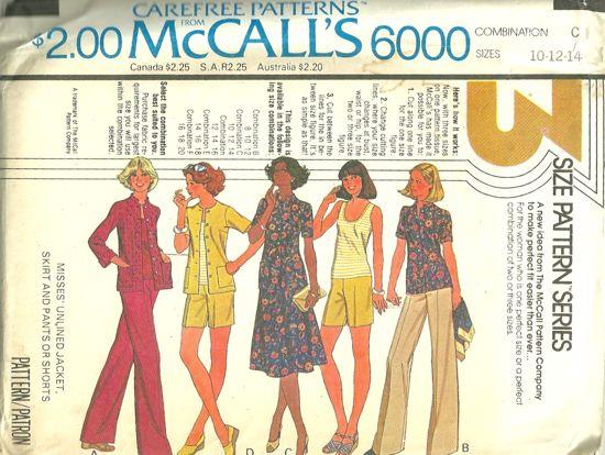 McCalls 6000