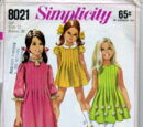 Simplicity 8021 A