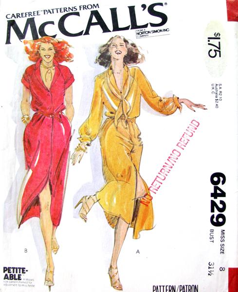 Mccalls 6429