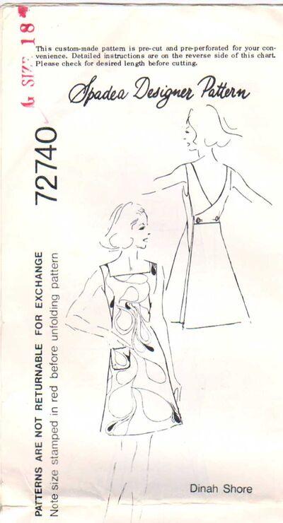 Spadea 72740 Size 18