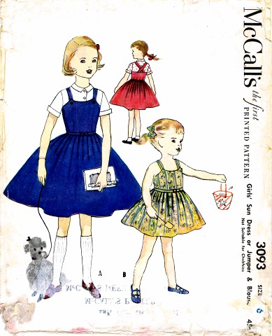 McCalls 1954 3093