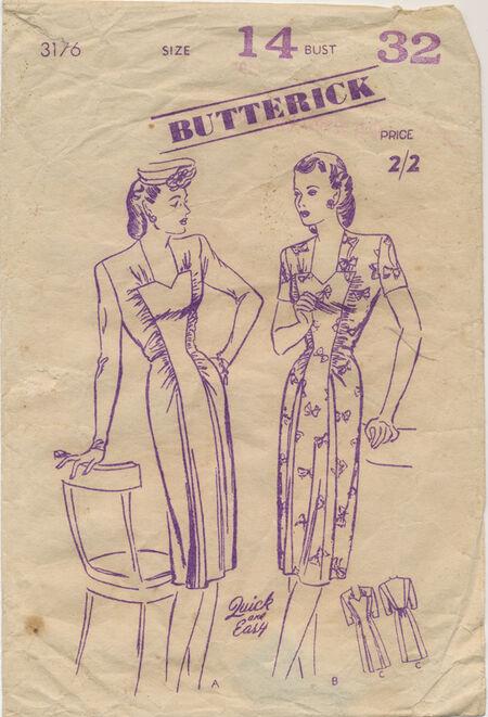 Butterick 3176B