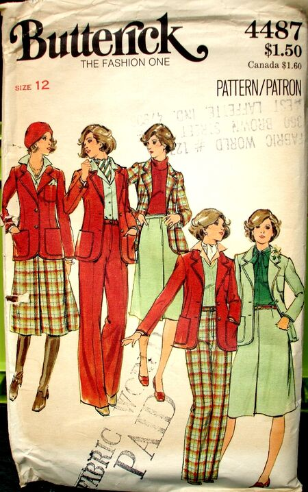 Butterick 4487 A image