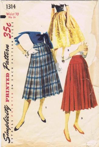 Simplicity 1955 1314