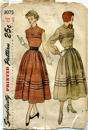 Simplicity 1949 3075 A
