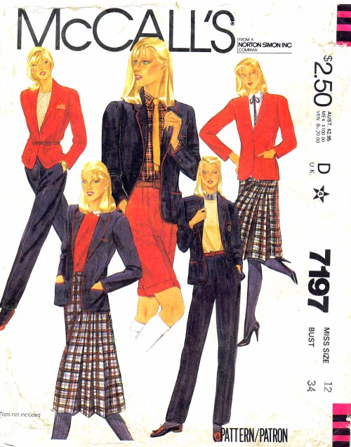 McCalls 1980 7197