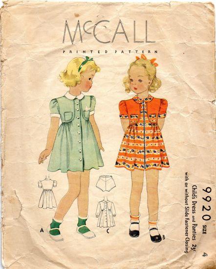 McCall's 9920