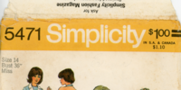 Simplicity 5471