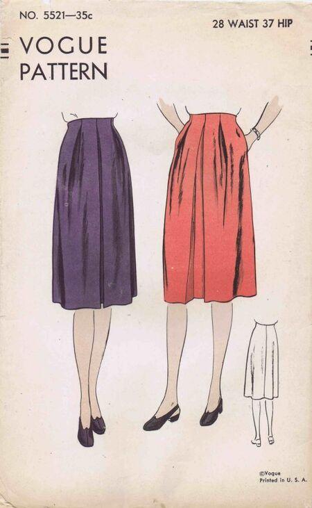 Vogue 1945 5521