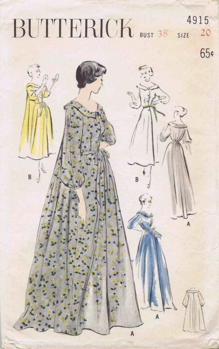 Butterick 1949 4915