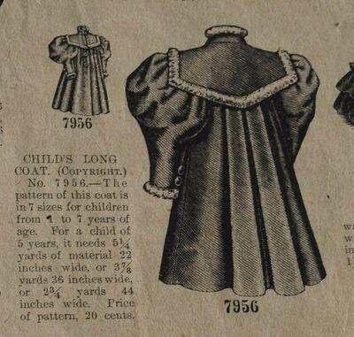 Butt 7956 girls coat