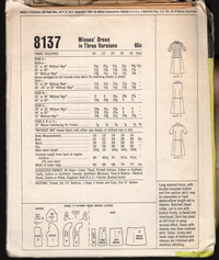 Pattern-McCalls-8137-Back