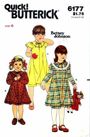 Butterick 6177 A