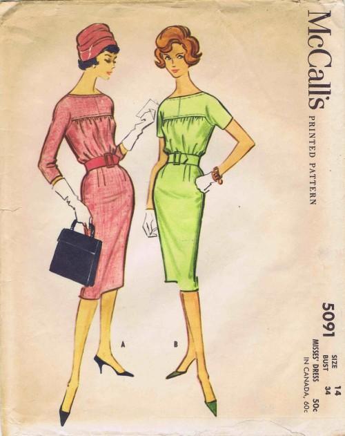 McCalls 1959 5091