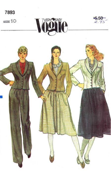 Vogue 1982 7893