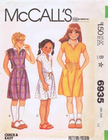 McCalls 1980 6935