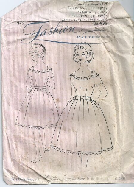 Fashion Pattern DS.435
