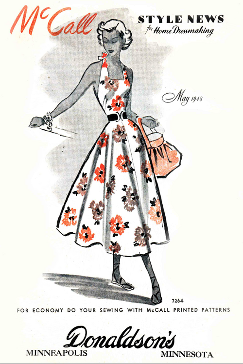 McCall Style News May 1948