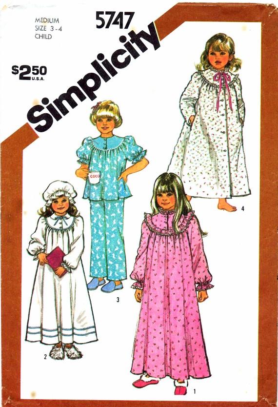 Simplicity 1982 5747