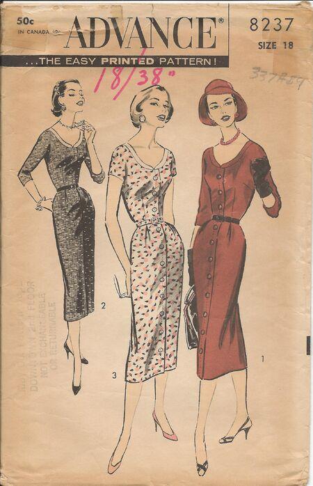 Adv 8237 1950s
