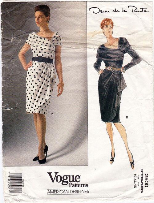 Pattern - Vogue 2500 02