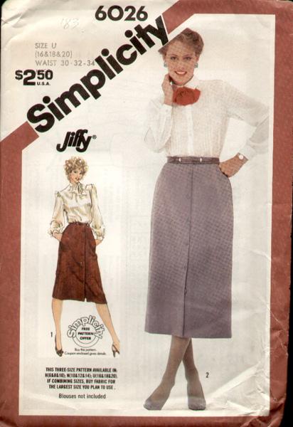 Simplicity 6026 83 a