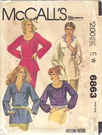 McCalls 6863