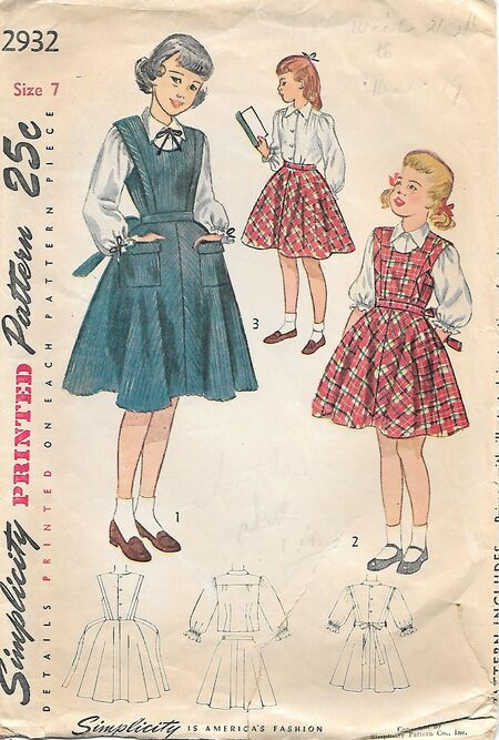 S2932Girls7,1949
