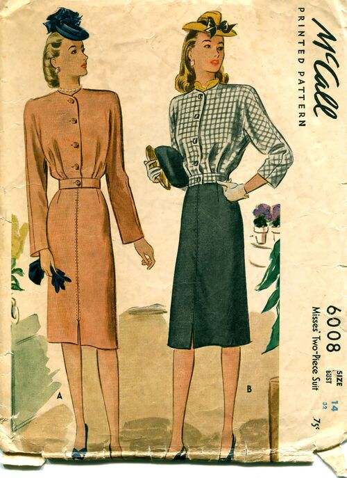 McCalls 6008 Sewing Patterns at Design REwind Fashions on Etsy a