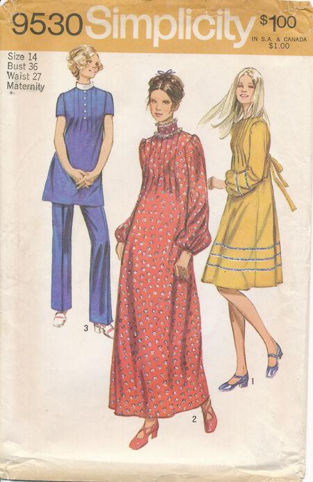 1971 Simplicity 9530 Size 14