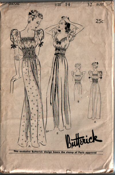 Butterick 8202 front