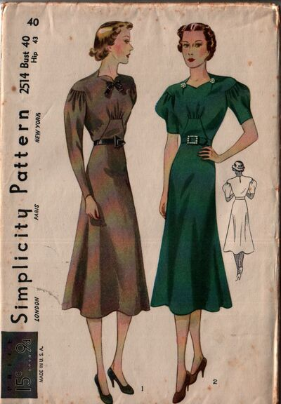 Simplicity 2514 front