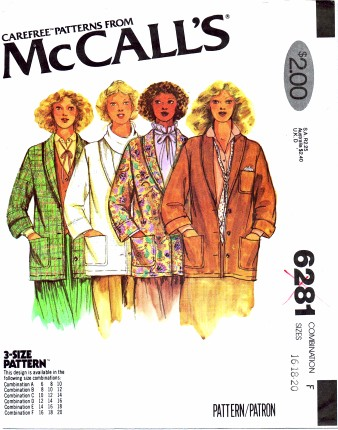 McCalls 6281