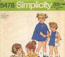 Simplicity 5478 B