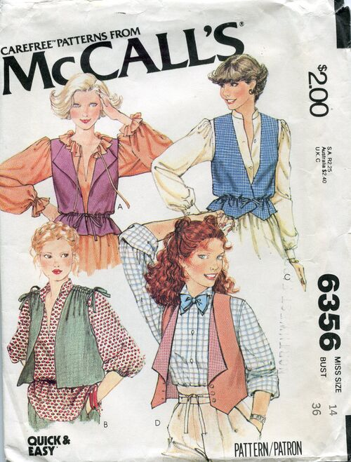 Mccalls6356vests