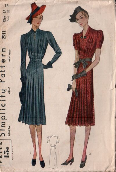 Simplicity 2911 front