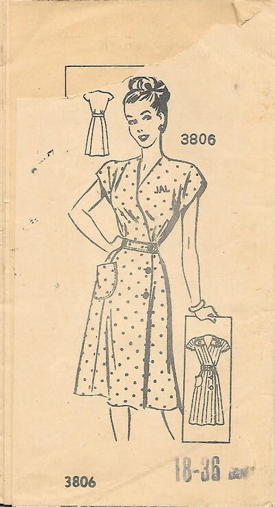 AW3806size18,1940s