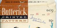 Butterick 6470 A