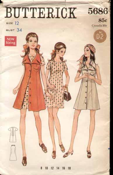 Butterick 5686 a 70s