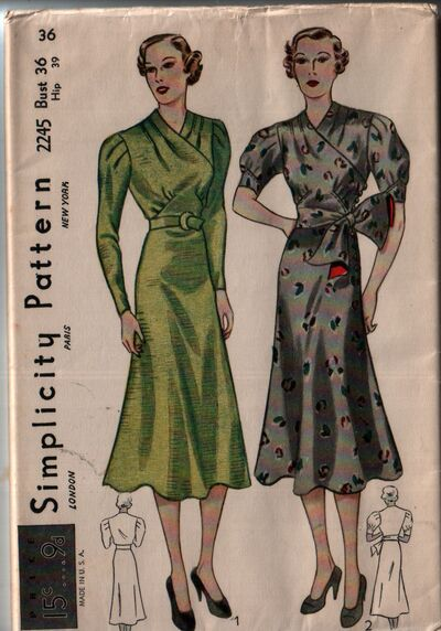 Simplicity 2245 front