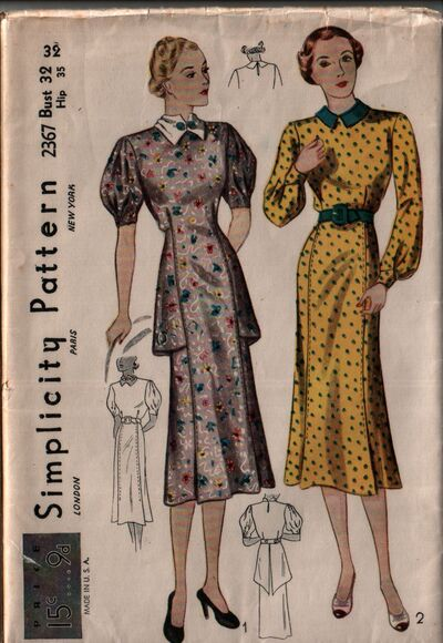 Simplicity 2367 front